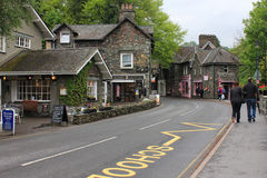 Great Grasmere. A beatiful small town Grasmere The Lake district UK. Very beatiful and peaceful site Stock Photography