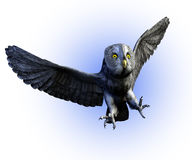 Great Gray Owl 2 - with clipping path Stock Image