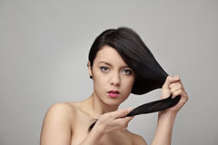 Great hair Royalty Free Stock Photo