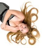 Great hair Royalty Free Stock Photography
