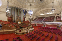 The Great Hall inside the Methodist Central Hall, Westminster Stock Image