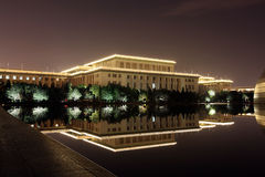 Great Hall of the People alla notte Fotografia Stock Libera da Diritti