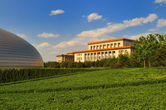 Great Hall of the People in Beijing Stock Image