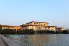 The great hall of the people Royalty Free Stock Photo
