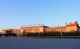 The Great Hall of the people in China Royalty Free Stock Image