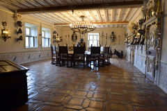 Great Hall in the Rabenstein Castle Royalty Free Stock Photography