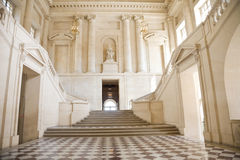 Great hall and staircase. From Versailles Chateau. France series Royalty Free Stock Photos