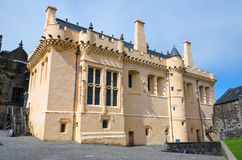 The Great Hall at Stirling Castle, Scotland Royalty Free Stock Photography
