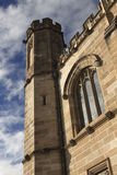 The Great Hall tower in the University of Sydney Royalty Free Stock Images