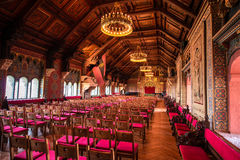 Great hall of the Wartburg castle Stock Images