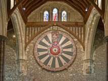 The Great Hall of Winchester Castle in Hampshire, England Stock Images
