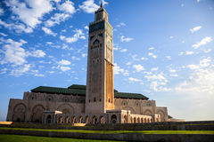 Great hassan II mosque Stock Photography