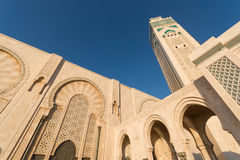 The Great Hassan II Mosque in Casablanca, Morocco Royalty Free Stock Photo