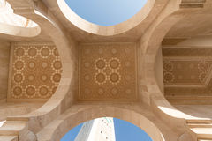 The Great Hassan II Mosque in Casablanca, Morocco Stock Images