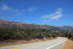 Great Highway along the Pacific coast Stock Photography