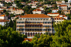 Great Hilton imperial hotel in Dubrovnic, croatia.  Stock Image