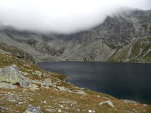 The Great Hincovo Mountain-lake, High Tatras, Slovakia Stock Image