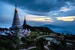The Great Holy Relics Pagoda Nabhapolbhumisiri Stock Photo