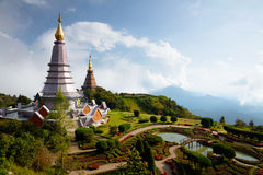 The Great Holy Relics Pagoda Nabhapolbhumisiri Royalty Free Stock Photos