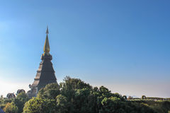 The Great Holy Relics Pagoda Nabhapolbhumisiri; Temple Royalty Free Stock Photography