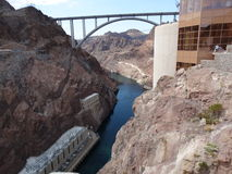 The great hoover dam Stock Photo