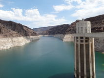 The great hoover dam Royalty Free Stock Photography