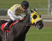 Great Hot Wins The Santa Maria Stakes Stock Photos