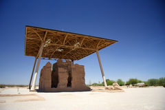 Great House. The Great House at Casa Grande Ruins National Monument Stock Photo