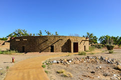 Great House - Aztec Ruins National Monument - Aztec, NM stock photography