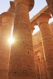 Great Hypostyle Hall, Karnak temple complex, Luxor Stock Images
