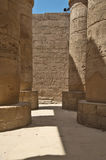 The Great Hypostyle Hall of the Temple of Karnak. Luxor, Egypt. Royalty Free Stock Images