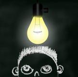 Great Idea - Ah ha Moment Stock Images