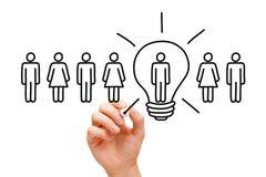 Great Idea Light Bulb Concept Royalty Free Stock Photo