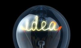 Great idea Stock Image