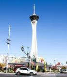 Stratosphere Hotel, Las Vegas, NV. Great image of the world famous Stratosphere Hotel in Las Vegas, NV Stock Photo