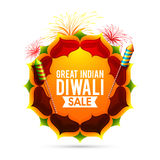 Great Indian Diwali Sale Poster, Banner or Flyer. Great Indian Diwali Sale Poster, Biggest Sale Banner, Special Discount Offer Flyer, Festive background with Stock Images
