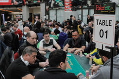 Great International Poker Festival and Tournament royalty free stock photos
