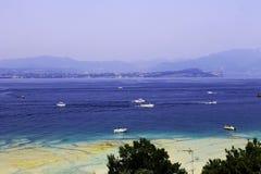 Resort at lake Garda stock photography
