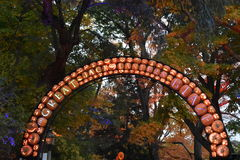 The Great Jack O`Lantern Blaze in Croton-on-Hudson in New York Royalty Free Stock Images