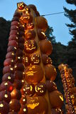 The Great Jack O`Lantern Blaze in Croton-on-Hudson in New York Royalty Free Stock Photo