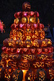 The Great Jack O`Lantern Blaze in Croton-on-Hudson in New York Royalty Free Stock Photography