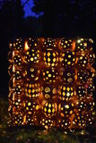 The Great Jack O`Lantern Blaze in Croton-on-Hudson in New York Royalty Free Stock Image