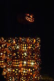 The Great Jack O`Lantern Blaze in Croton-on-Hudson in New York Stock Images