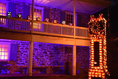 The Great Jack O`Lantern Blaze in Croton-on-Hudson in New York. As seen on Oct 16, 2016. It is is a fall spectacle integrating thousands of hand-carved jack o Stock Images