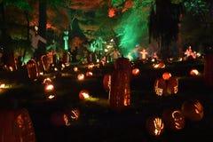 The Great Jack O`Lantern Blaze in Croton-on-Hudson in New York Stock Image