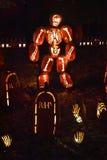 The Great Jack O`Lantern Blaze in Croton-on-Hudson in New York Royalty Free Stock Photos