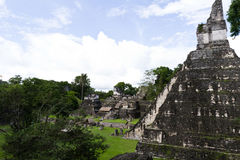 Great Jaguar Temple, Tikal, Guatemala Royalty Free Stock Photos