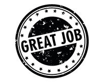 Free Great Job Stamp Stock Images - 86264484