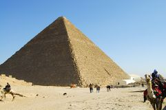 The Great Khufu Pyramid of Giza Royalty Free Stock Image
