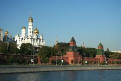 Great Kremlin Stock Photography